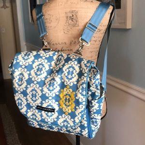 Versatile baby bag & backpack! Cute & many pockets